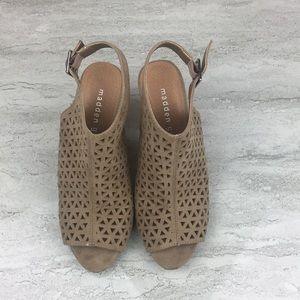 Madden Girl Geometric Cut Out Heels